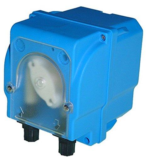 Pompe doseuse péristaltique à débit fixe pour dosage des liquides - Modèle MP2-B - 12 l/h - 24 VDC - Tube membrane en santoprène