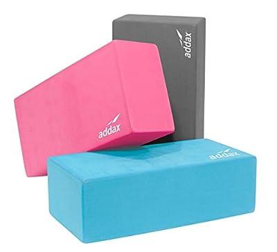 Brique von Yoga und Pilates aus EVA-Schaumstoff-22cm x 11cm x 7cm-Addax