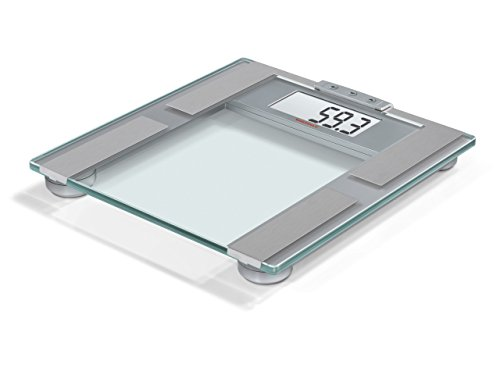 Soehnle 63350 Personenwaage Digital Pharo 200 Analytic, silber