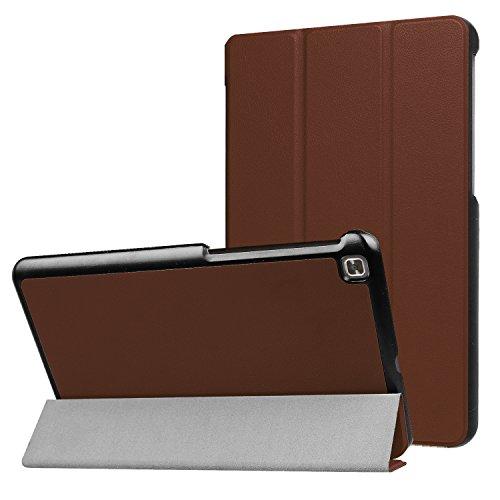 LG G Pad IV 8.0/G Pad X28.0FHD Fall, ratesell Slim Fit Haltbar Premium Leder Folio Schutzhülle für LG G Pad IV 8.0/V533(Kanada), GPAD X28.0Plus (T-Mobile) Tablet, Braun