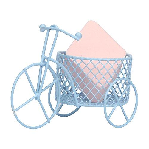 masrin Halter für Fahrradhauchhalterung für Make-up-Schönheitsform-Eipulver-Schwamm-Ausstellungsstand (Blau) -