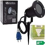 Evolution Gartenstrahler GU10 inkl. 3,5W SMD LED Aussenstrahler