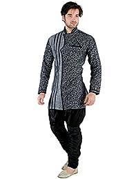NEW LOOKS Men's Linen Kurta Pyjama