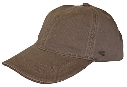 camel active Herren Basecap Mütze 6-Panel-Cap Base Cap Kappe Baseball Cap div. Farben (L (58-60), taupe)