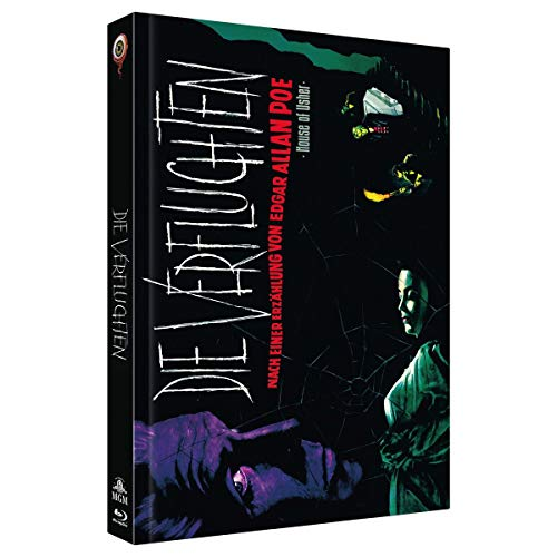 Die Verfluchten - Der Untergang des Hauses Usher (2-Disc Limited Extended Collector's Edition Nr. 25, Cover A, Limitiert auf 222 Stück) [Blu-ray]