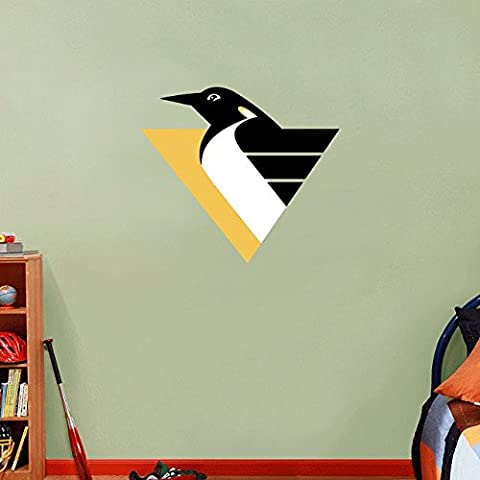 Pittsburgh Penguins NHL Hockey Home Decor Art Wall Vinyl Sticker 63 x 55 cm