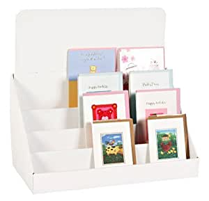 Pack Of Four 18 Inch Cardboard Greeting Card Display Stands