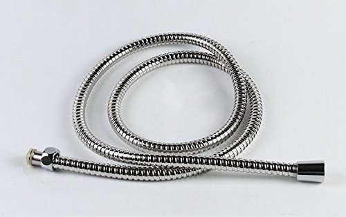 Flessibile doccia tubo cromato in acciaio inox. 3M Lunghezza.