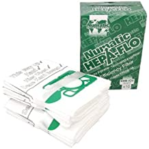 Numatic NVM-1CH Numatic Henry and James Cleaner Bags, Pack of 10