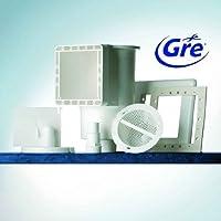 Gre AR100 - Skimmer standard completo bianco + valvola di ritorno