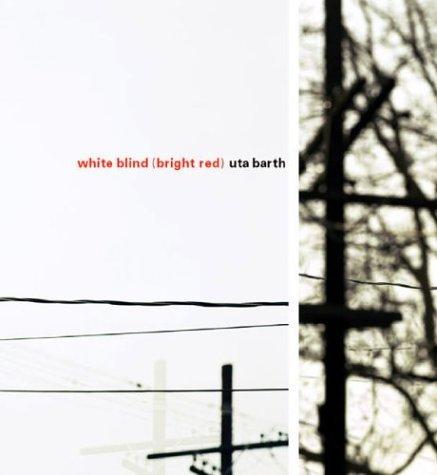 Uta Barth: White Blind (Bright Red) by Jan Tumlir (2004-06-02)