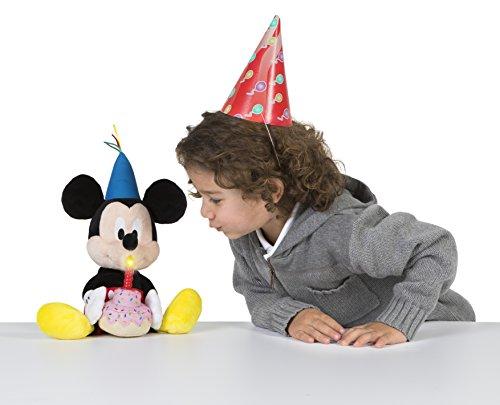 IMC Toys- Topolino Happy Birthday Disney Peluche, 184244MM2