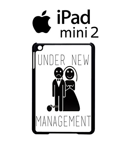 Under New Management Married Game Over Case Back Cover Hülle Weiß Schwarz iPad Mini 2 Tablet White (Disney-management)