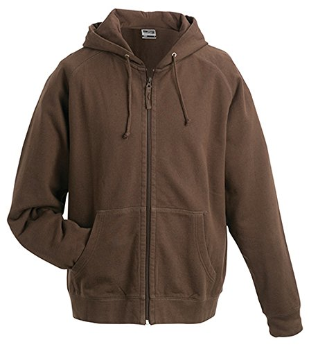 James & Nicholson Herren Sweatshirt Brown