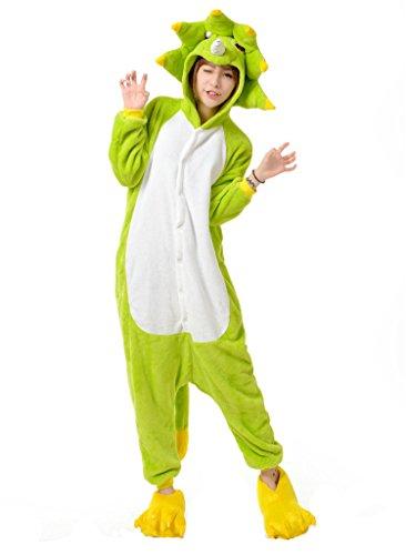 jamas Erwachsene Trickfilm Cosplay Freizeitkleidung Kostüm Siamesische Kleidung Alltagskleidung L (12-jähriges Mädchen Halloween-kostüme)