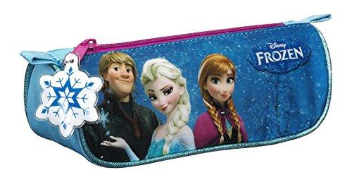 Disney Frozen- Estuche portatodo Triangular, Color Azul (SAFTA 811615224)