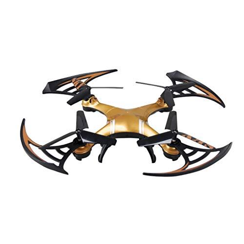 Dtuta Flugzeuge Basteln Kinder,Yade Fernbedienung Anti-Fall-Flugzeuge Feste HöHe Vierachsige Drohne Spielzeug Geschenk Kultivieren Drahtlose KreativitäT
