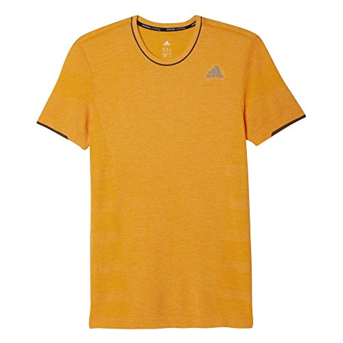 adidas Herren T-Shirt As Primeknit M Laufshirt orange
