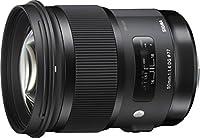 Sigma 50 mm DG HSM - Objetivo para Canon (50 mm, f/1.4), color negro