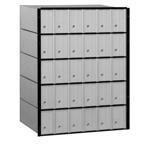 Salsbury Industries 2230Standard System Aluminium Postfach mit 30Türen (Postfach Salsbury)