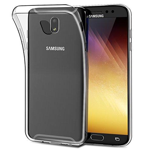 Melojoy Coque Samsung Galaxy J5 2017, Housse Etui TPU Silicone Transparent pour Samsung Galaxy J5 2017 (Samsung Galaxy J5 2017)