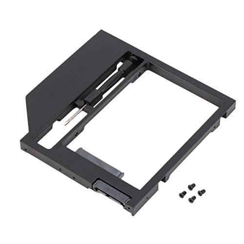 Noradtjcca 2. Festplatte Caddy Festplatte SATA-Gehäuse mit Schraubendreher für Laptop-PC - Interface, Notebook-festplatte
