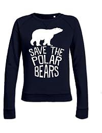 Sudadera de mujer Save The Polar Bears by Shirtcity