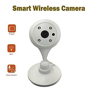 Indoor Überwachungskamera, Amotus Smart IP Kamera Video Baby Monitor mit Night Vision Home Überwachungskamera WiFi Cam Bewegungsmelder Remote Ansicht in iPhone Android PC (Nur Englische Version)