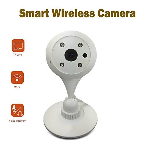 Mini telecamera di sorveglianza, amotus smart ip telecamera video baby monitor con visione notturna casa wifi vista remoto con rilevatore di movimento cam in iphone android pc di monitoraggio