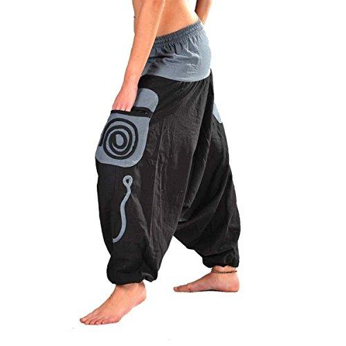 Simandra Aladinhose mit großen Taschen - 2