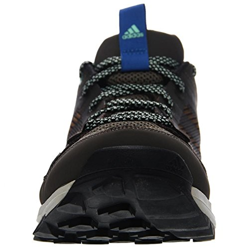 Adidas Outdoor Kanadia 7 Trail Running Shoe - Midnight Indigo / craie blanche / jaune solaire 6.5 Umber/Black/Blue