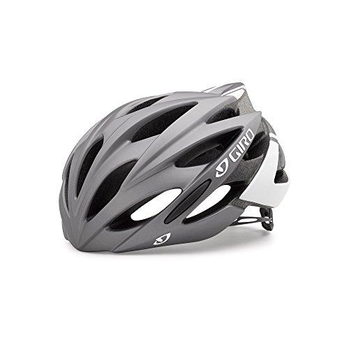 Giro Unisex Fahrradhelm Savant, Matt Titan/White, 55 - 59 cm, 7056194