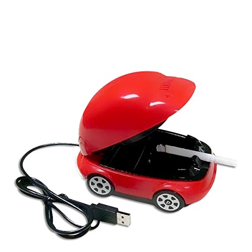 mini-voiture Aschenbecher Staubsauger Rauchmelder USB Umgebenes Zigarette