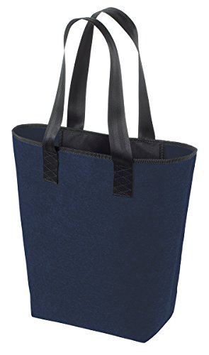 Shopper Classic- Borsa in feltro Blu