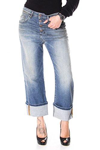 Please Frauen Jeans Baggy Baggy P16IBQ2T43 P16 s Denim
