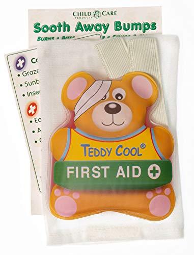 Teddy Cool® Beruhigende Bumps - Wiederverwendbare Heiß- und Kalt-Kompresse für Kinder - Ein Muss für Ihr Erste-Hilfe-Kit, Eisbeutel für Kinder (Kochen-kits Für Mädchen)
