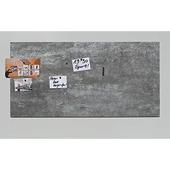 Magnetpinnwand Wandtafel mit 5 Magneten Edelstahl magnetisch
