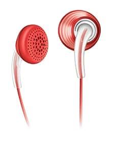 Philips SHE écouteurs intra-auriculaires 3650avec Necks Trap (Dragonne, câble intelligent Management) iPod Nano (Orange)