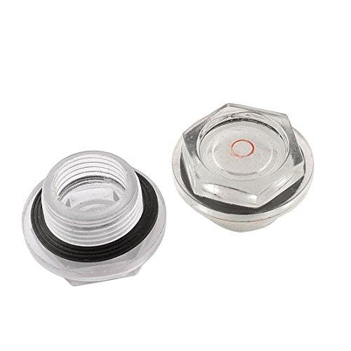 Kompressor-Öl Liquid Schauglas, 2 Stück ()