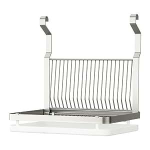 Ikea grundtal griglia portaspugna per lavabo cucina con ganci da appendere e pianale di scolo - Ikea pentole per induzione ...