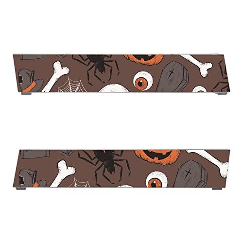 Disagu SF-sdi-3316_1210 Design Schutzfolien für Nintendo Wii Fuß - Motiv Halloweenmuster 02