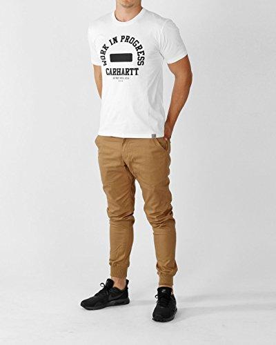Carhartt Herren T-Shirt Campus - Parsley/Yellow White/Black