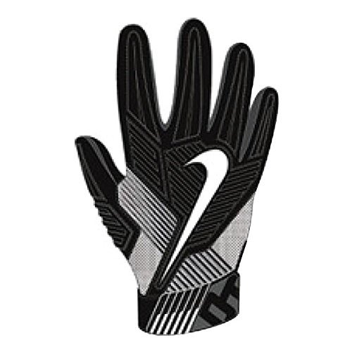Nike Men's D-Tack 5 Padded Football Gloves Black/White GF0385 010 Size XX-Large
