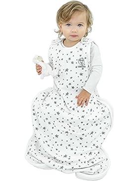 Woolino 4-Jahreszeiten-Baby-Schlafsack - Merino-Wolle