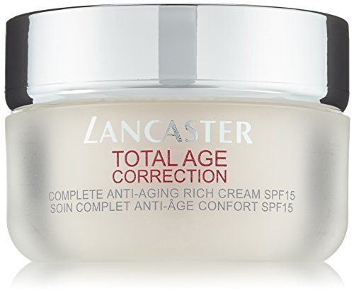 Lancaster – Total Age Correction – Crema de día antiedad global enriquecida SPF15 – 50 ml
