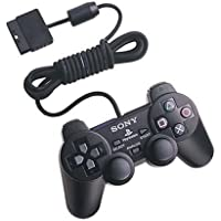 MEDIA COM | PS2 Wired Controller Double Shock Gamepad for Sony PS2 PlayStation 2