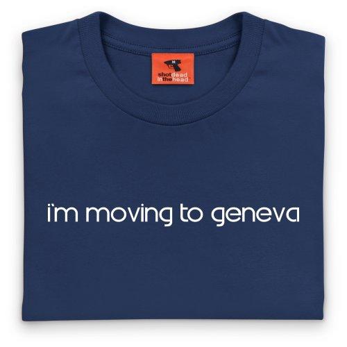 Square Mile Geneva T-Shirt, Herren Dunkelblau