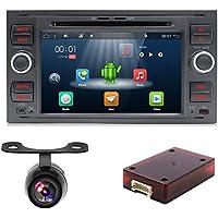 YUNTX In Dash - Audio para Coche con Sistema de navegación GPS para Ford Focus (
