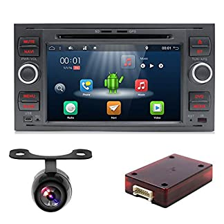 Android-71-Autoradio-fr-FORD-FOCUS-YUNTX-Autoradio-2-Din-Fahrzeug-In-Dash-Auto-Audio-mit-GPS-Navigationssystem-7-Zoll-Multi-Touch-Bildschirm