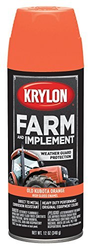 krylon-k01821000-kubota-orange-farm-paint-12-oz-by-rust-oleum